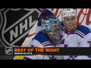 Galchenyuk's hat trick, Lundqvist's incredible birthday steal the night