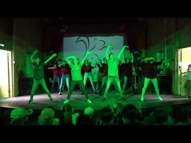 Лаки страйк танец Танец вожатых Круть Смотреть всем