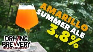 Amarillo Pale Ale 3.8% ABV Grain to Glass - All Grain Brewing Recipe