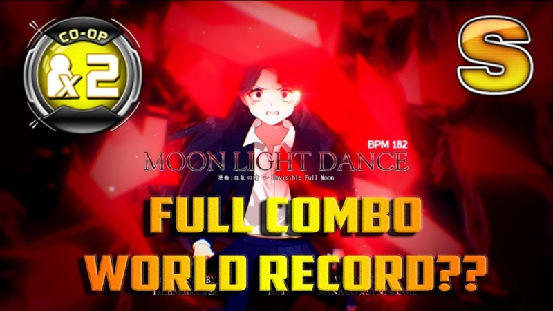 Moon Light Dance CO OP X2 Double Performance FULL COMBO Gold S WORLD RECORD