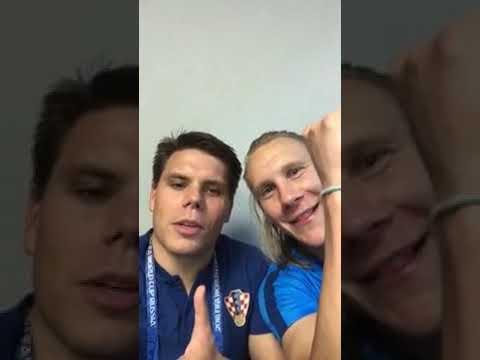 Слава Україні! Ця перемога за Динамо і Україну! Хорватія перед! - сказали хорвати.