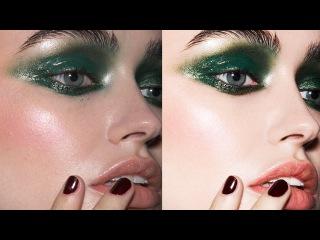 Professional Beauty Retouching Using Layers And Healing Brush