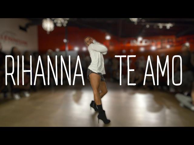 YANIS MARSHALL HEELS CHOREOGRAPHY TE AMO RIHANNA. MILLENNIUM DANCE COMPLEX LOS ANGELES