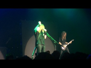 Megadeth and Dave Mustaine pay tribute to Chris Cornell in Tokyo, Japan 18/05/17