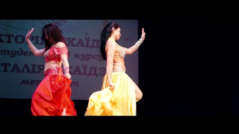 Восточный танец Наталья и Виктория Чхаидзе