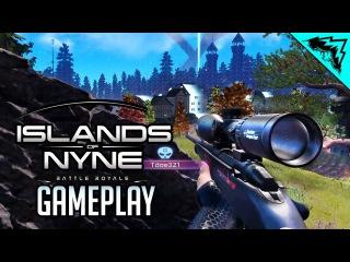 Islands of Nyne: Battle Royale GAMEPLAY Reveal - First Look & Sneak Peak (IoN Gameplay)