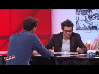 The Voice  Vincent_Vinel_repete_coache_par_Mika