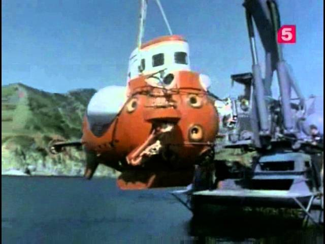 Эти невероятные батискафы Подводная одиссея команды Кусто