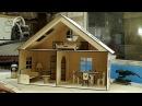 Кукольный домик Фанера 6 мм, лазерная резка