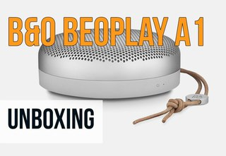 B&O Beoplay A1 Portable Bluetooth Speaker Unboxing  