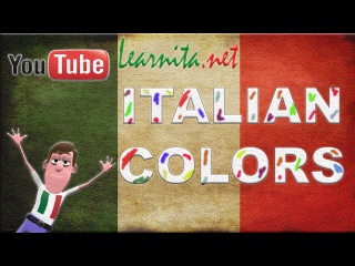Learn italian  Colors - lesson 4 - Italian videos