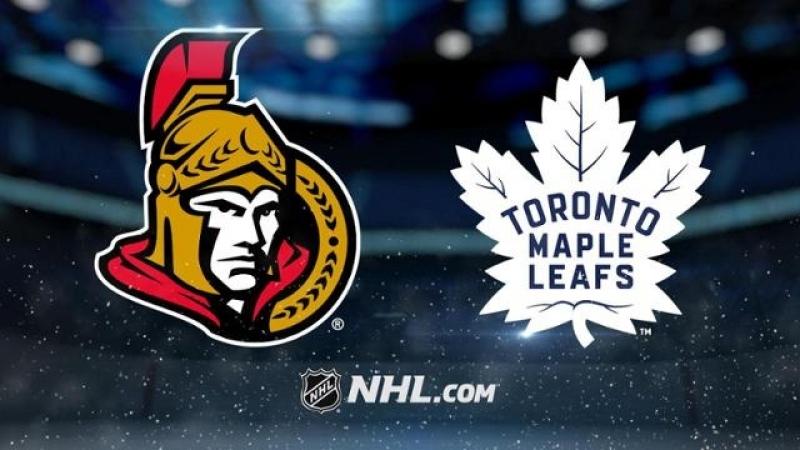 НХЛ регулярный чемпионат Торонто Мэйпл Лифс Оттава Сенаторз 6 3 3 0 1 1 2 2