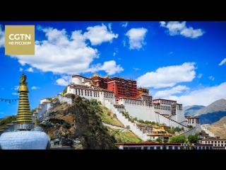 Корреспондент CGTN в Тибете