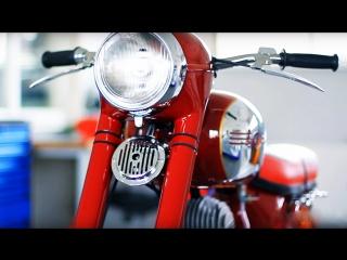 """Реставрация мотоцикла JAWA 353. Мотоателье """"MOTOREN"""""""