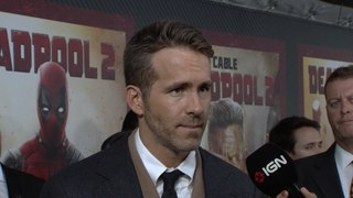 Ryan Reynolds Wants to Marry Our Host - Deadpool 2 Red Carpet