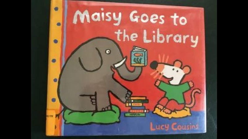 Maisy Goes To The Library Written by Lucy Cousins Read by SUPER BooKBoY