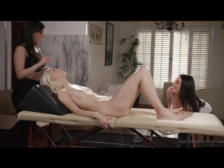 Three Girls and a Bolster: Angela White & Whitney Wright and Chloe Cherry