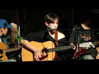 170924 South Club 남태현 (대구버스킹05) - Champagne supernova (cover)