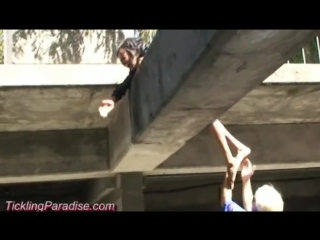 TicklingParadise - Beth Tickled Outdoors!!