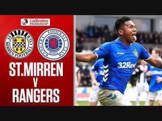 St. Mirren vs. Rangers _ Morelos seals deal in stoppage time _ Ladbrokes Premier