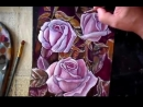 Урок №2. Как нарисовать розу. Рисуем лессировками в стиле голландского натюрморта