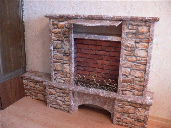 Декоративный камин, изображение №13