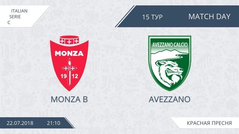 AFL18 Italiy Seria C Day 15 Monza B Avezzano