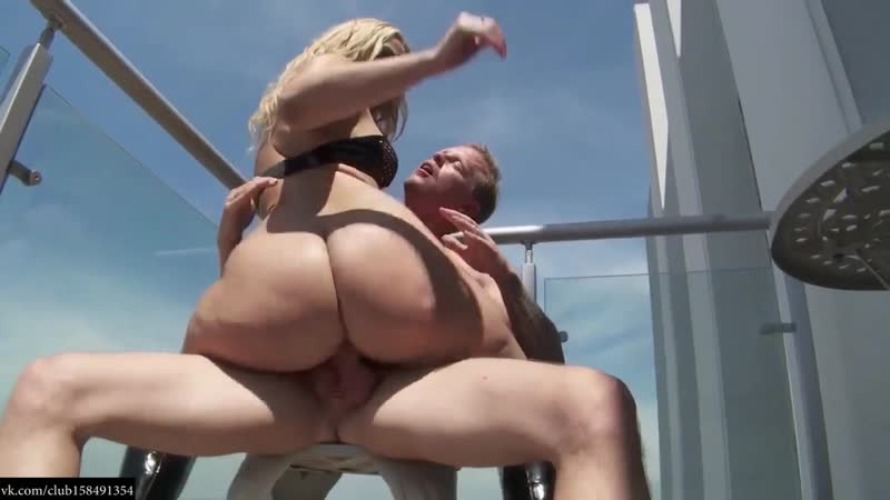 German Girl Has Anal Sex On Balcony With Cum Load