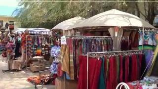 "00214 Рынок на фестивале ""Садху-санга 2015"""