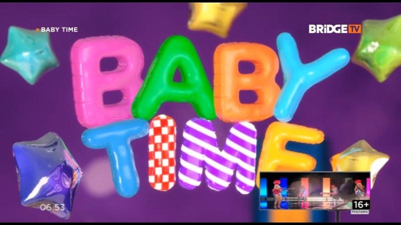 Фрагмент эфира BABY TIME НА BRIDGE TV (25.09.2018)