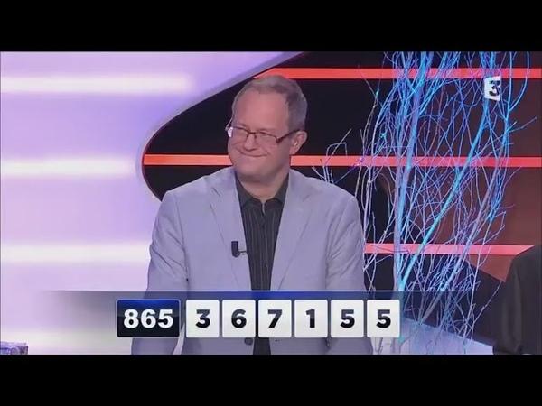 Jean-Marc Durand lordinateur humain - des chiffres et des lettres