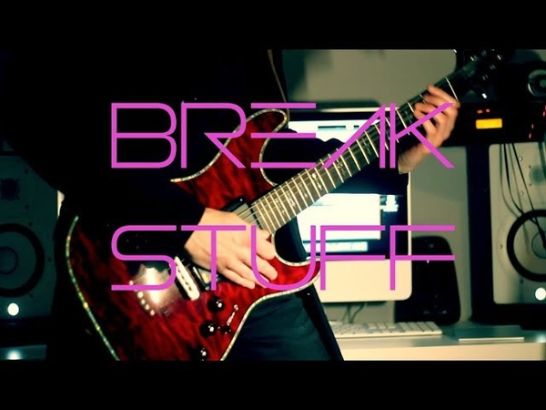 Limp Bizkit Break Stuff Live Guitar cover with Solo by Robert Uludag Commander Fordo