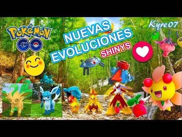 Pokemon GO Comunnity Day Evoluciones sin cebo Nuevos POKEMON