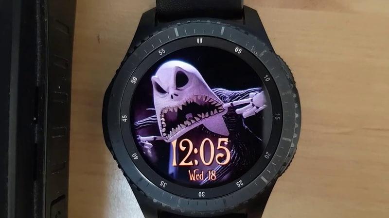 Halloween Animated WW35 watchface for Samsung Gear Samsung Galaxy warch