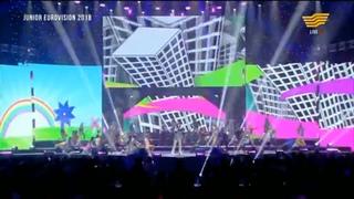 Динар Нәдірбекова - «Бұл әлем ертегідей» (Е.Комар, К.Даирова, Я.Жуков): Junior Eurovision 2018