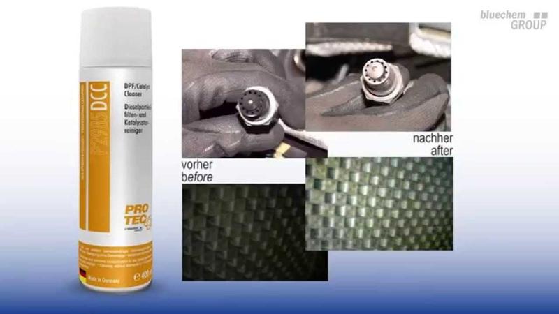 BluechemGROUP ProductShow - PRO-TEC Dieselpartikelfilter- und Katalysatorreiniger