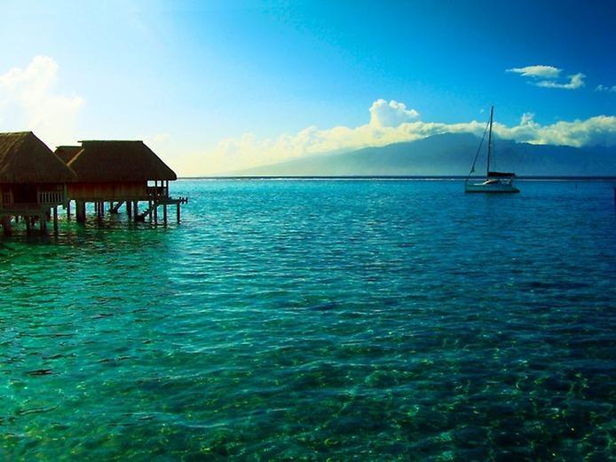 Остров Муреа во Французской Полинезии, изображение №2