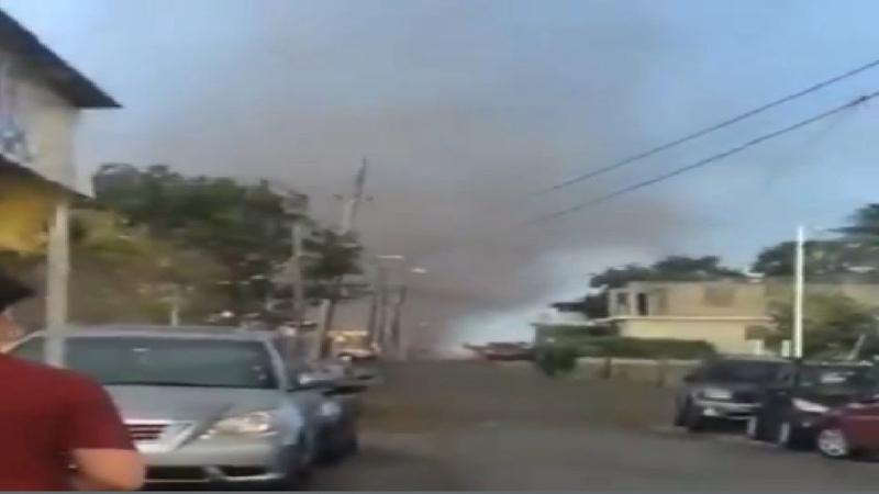 Landspout Tornado Lajas Puerto Rico Jul 27 2019