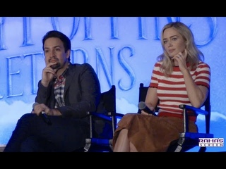 [FULL] Disney's 'MARY POPPINS RETURNS' Press Conference with Emily Blunt and Lin-Manuel Miranda