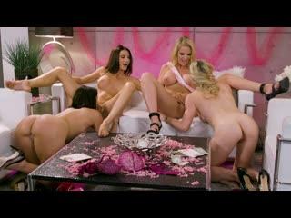 Cory Chase, Silvia Saige, Becky Bandini, Rachael Cavalli - Last Night Of Freedom [Lesbian]