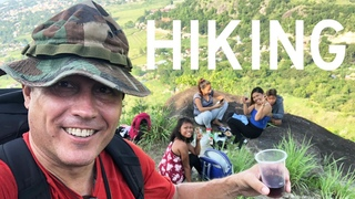 Climbed a Mini Mt. Everest and Discovered FOUR Beautiful Filipinas Drinking Sangria!
