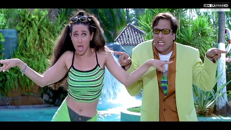 What is your mobile number song govinda,[4K Ultra HD 2160p] Haseena Maan Jaayegi 1999