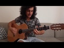Красивый гитарист от Бога игра на гитаре фламенко