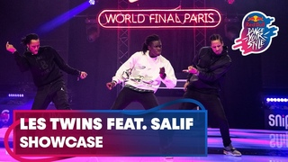 Les Twins ft. Salif performing live | Red Bull Dance Your Style World Final Paris 2019