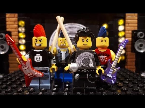 Bricks Fitter Concert LEGO Punk ft Human DogFood