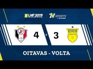 LNF2019 - Gols - Oitavas Volta - Joinville 4 x 3 Assoeva