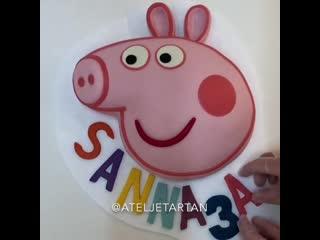 "Как сделать торт ""Свинка Пеппа"". / Наша группа во ВКонтакте: ""ULTRACAKES""."