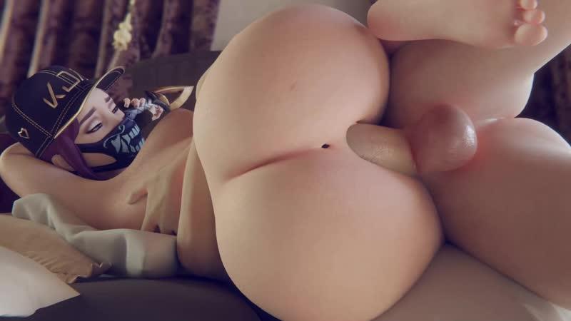 Kda akali porn