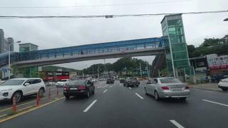 Driving in Korea (No Talking, No Music) - Gwangju to Seoul, Korea