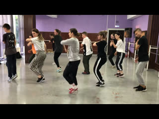 Hip-hop routine with my students/ Dasha Stomp